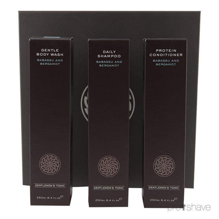 Gentlemens Tonic Shower Gift Set, 3x250 ml.