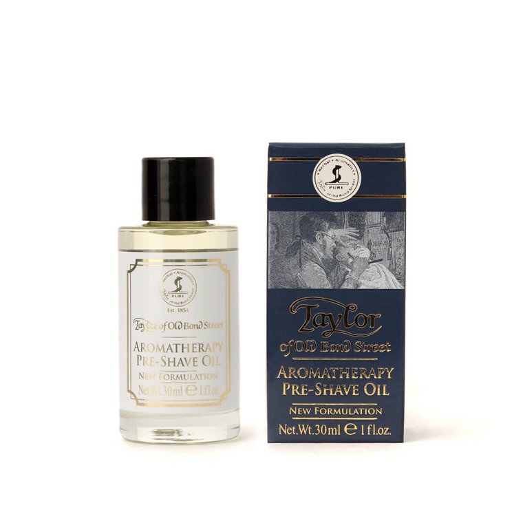 Taylor Of Old Bond Street Preshave Olie, Aroma Therapy, 30 ml.