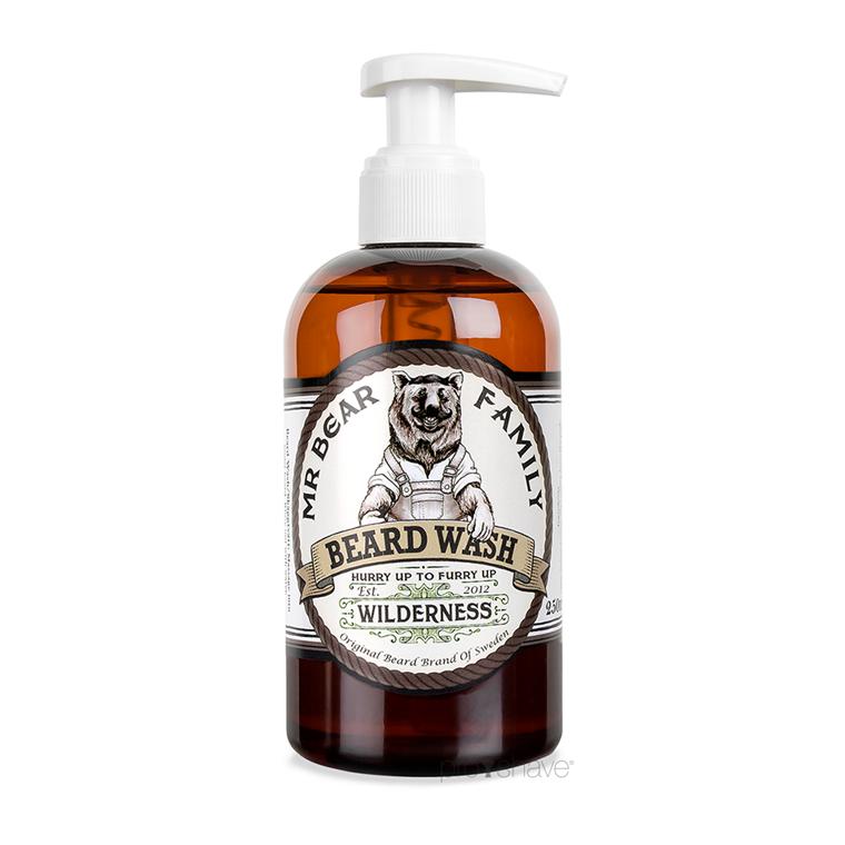 Mr. Bear Beard Wash Wilderness, 250 ml.