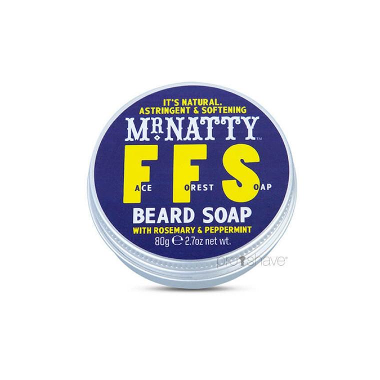 Mr Natty Face Forest Soap (FFS), 80 gr.