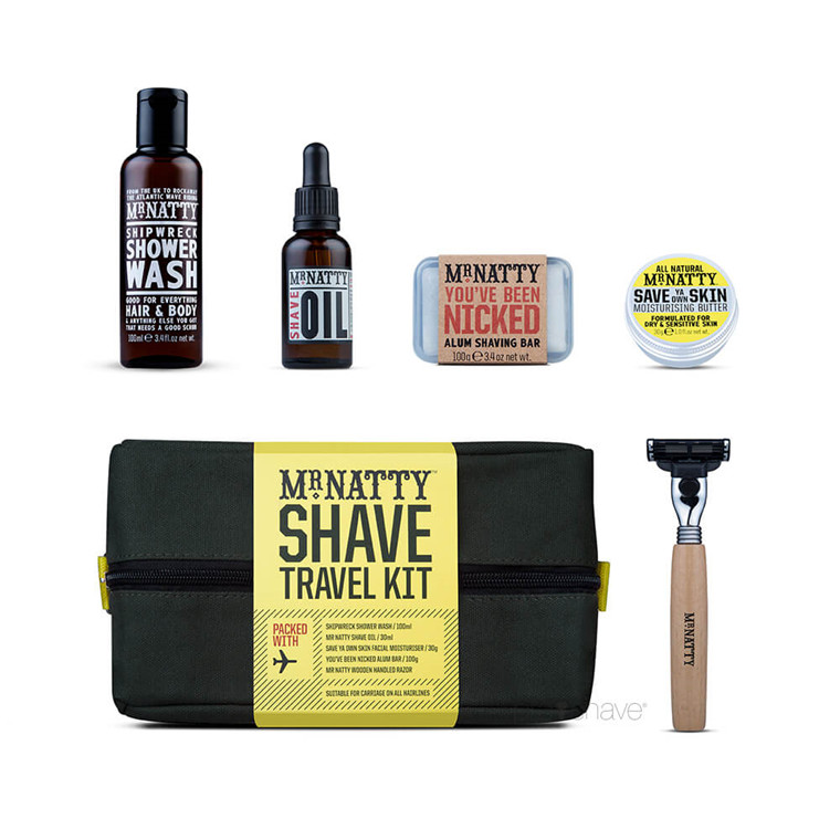 Mr Natty Travel Wash Kit, Shave