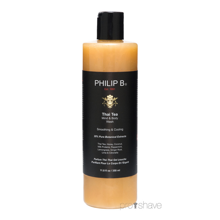 Philip B Thai Tea Mind & Body Wash, 350 ml.