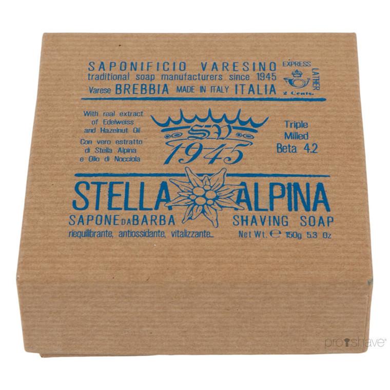 Saponificio Varesino Barbersæbe Stella Alpina, 150 gr.