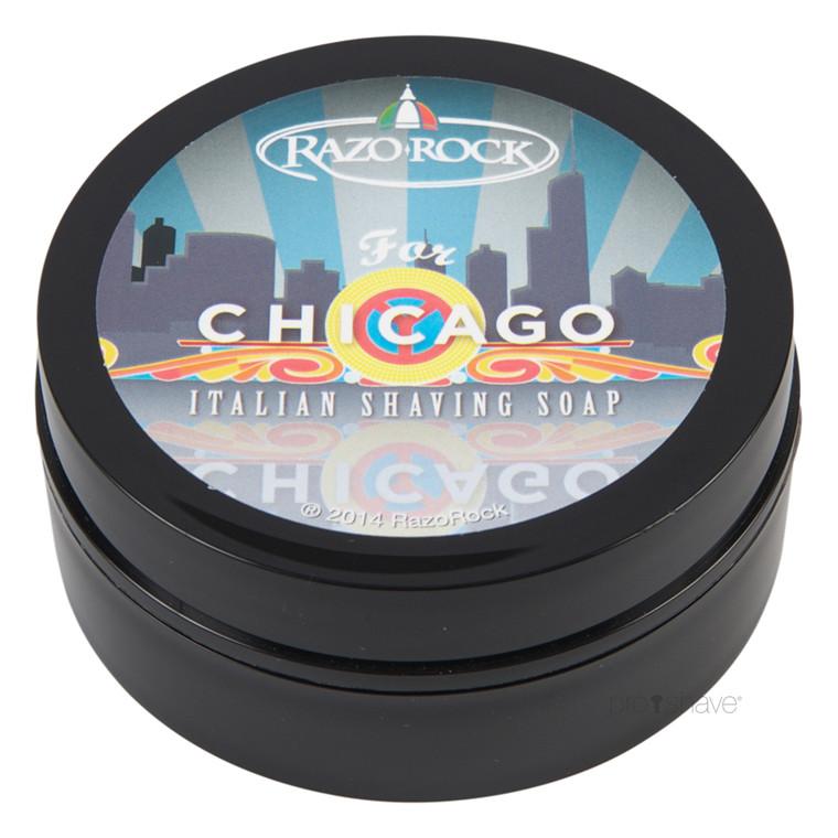 RazoRock For Chicago Barbersæbe, 125 ml.