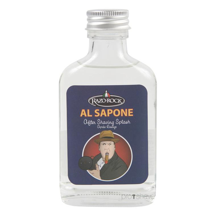 RazoRock Al Sapone Aftershave Splash, 100 ml.