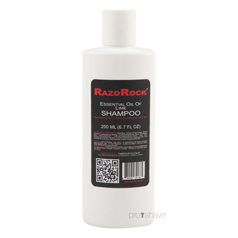 RazoRock Luksus Shampoo, Lime, 200 ml.