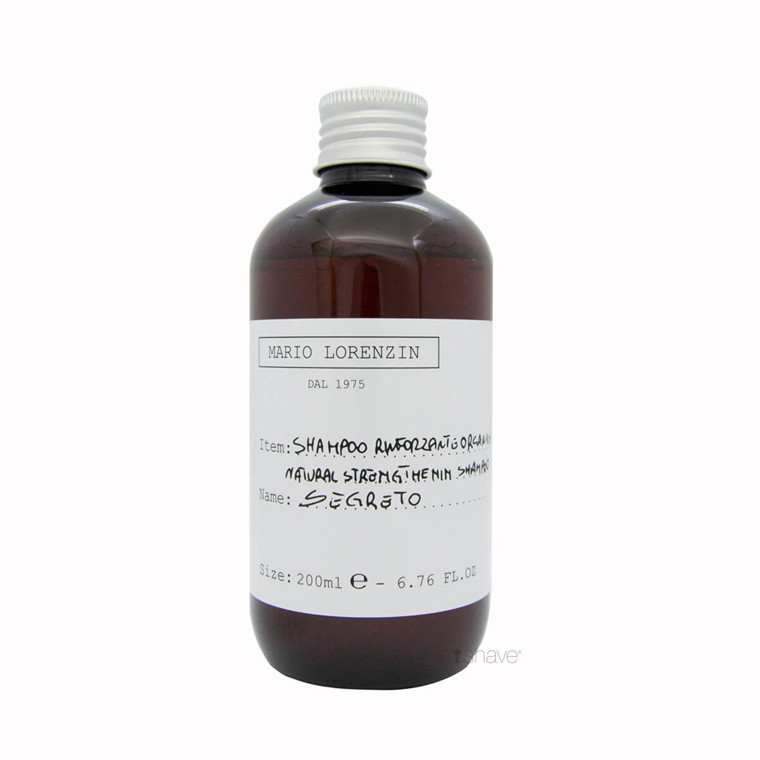Mario Lorenzin 1975 Strengthening Natural Shampoo, Sergreto, Women, 200 ml.