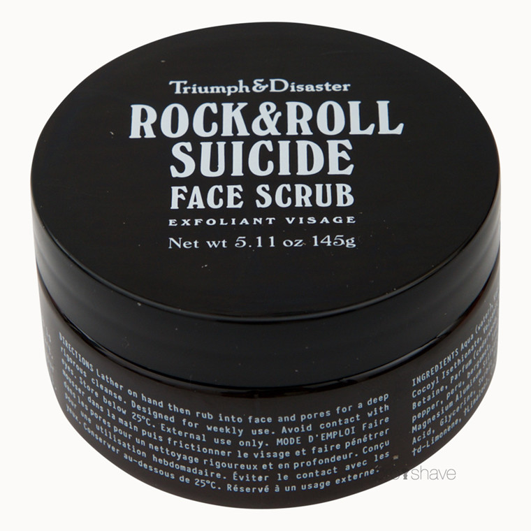 Triumph & Disaster Rock & Roll Suicide - Exfoliating Face Scrub, 100 ml.