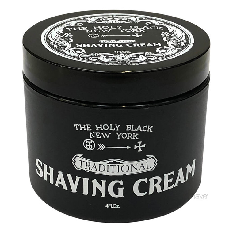 The Holy Black Shaving Cream, 118 ml.