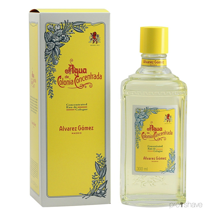 Alvarez Gómez Agua Concentrated Eau de Cologne Splash, 300 ml.