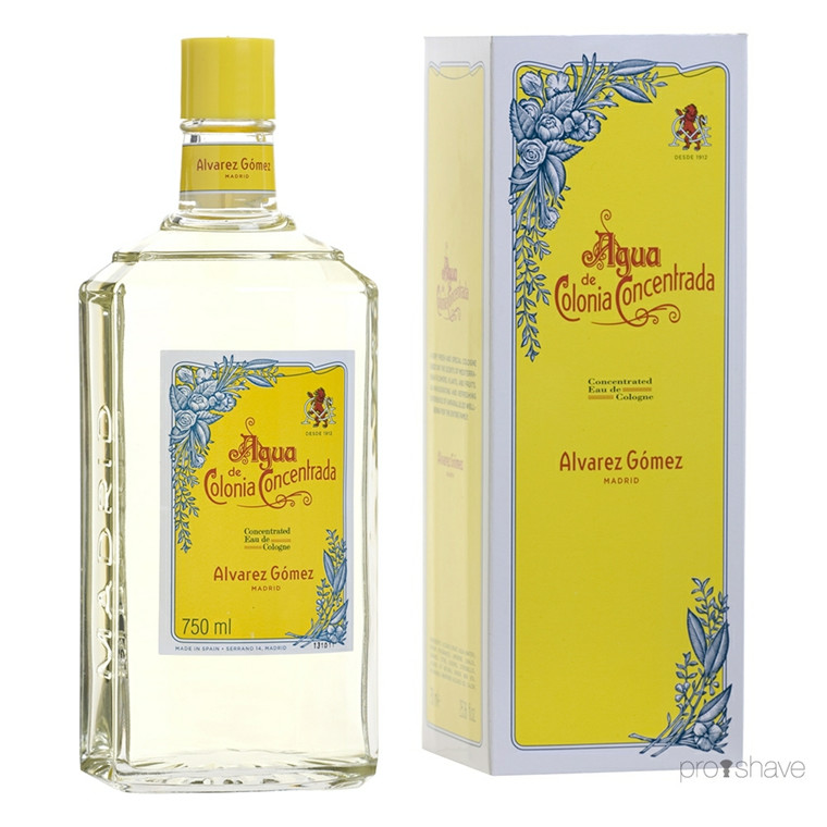 Alvarez Gómez Agua Concentrated Eau de Cologne Splash, 750 ml.