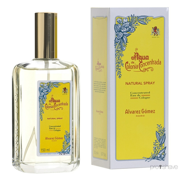 Alvarez Gómez Aqua Concentrated Eau de Cologne Spray, 150 ml.