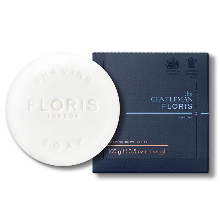 The Gentleman Floris Barbersæbe REFILL, Elite, 100 gr.