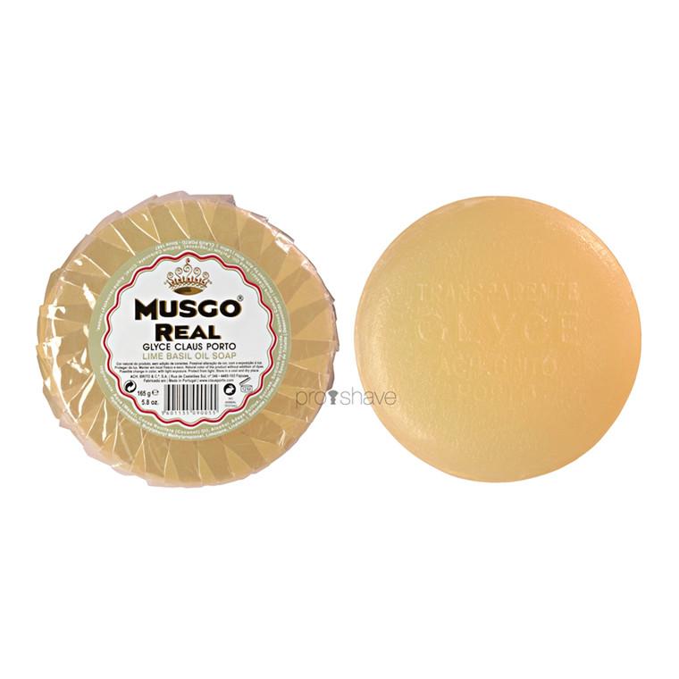 Musgo Real Glycerinsæbe til ansigtet, Lime Basil, 165 gr.