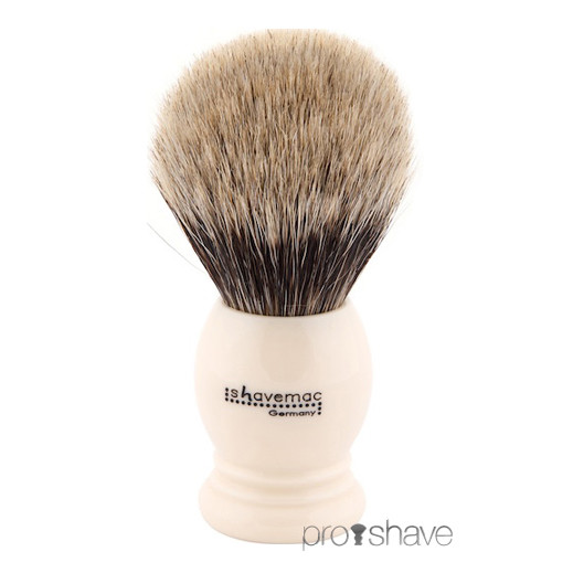 Shavemac Barberkost, Pure Badger, 26 mm.