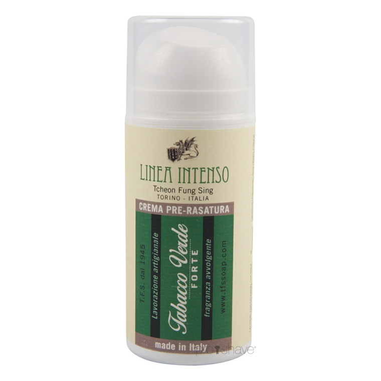 TFS Torino Preshave  Creme Grøn Tobak, 100 ml.