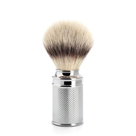 Mühle Silvertip Fibre® Barberkost, 21 mm, Krom