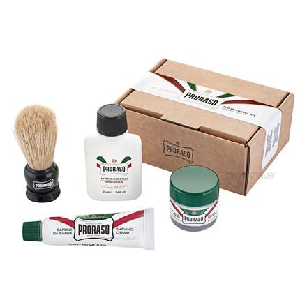 Proraso Rejsesæt til barbering