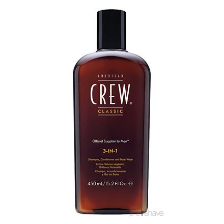 American Crew 3-in-1, 450 ml.