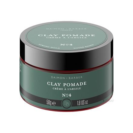 Daimon Barber Clay Pomade, No. 4, 50 gr.