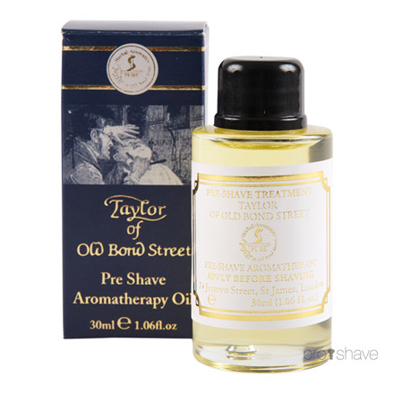 Taylor Of Old Bond Street Aroma Therapy Pre-Shave Oil, 30 ml.