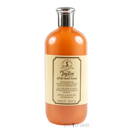 Taylor Of Old Bond Street Bath & Shower Gel, Sandalwood, 500 ml.