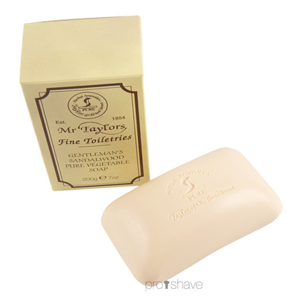 Taylor Of Old Bond Street Badesæbe, Sandalwood, 200 gr.