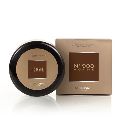 Mondial N°908 Homme Traditionel Barbercreme, 150 ml.