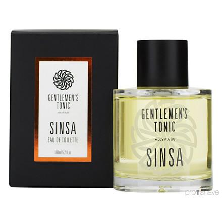 Gentlemens Tonic Sinsa, Eau de Toilette, 100 ml.