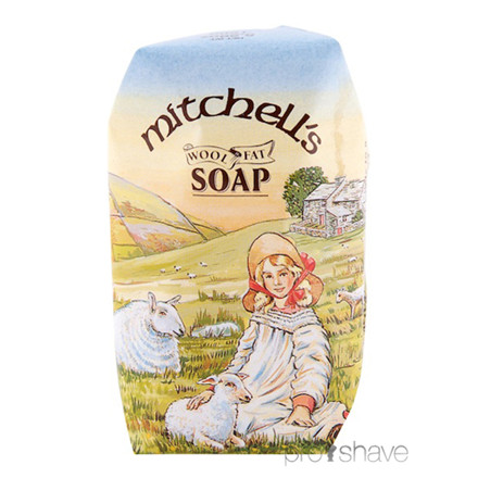 Mitchell's Wool Fat Badesæbe, 150 gr.