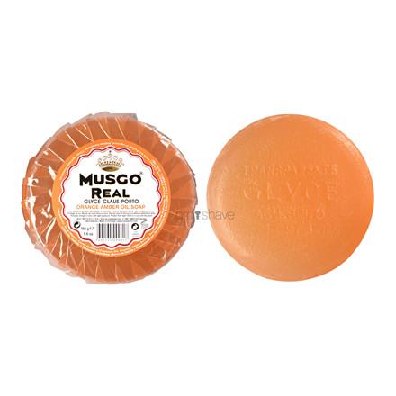 Musgo Real Glycerinsæbe til ansigtet, Orange Amber, 165 gr.