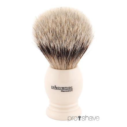 Shavemac Barberkost, Finest Badger, 23 mm.