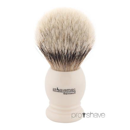 Shavemac Barberkost, Silvertip Badger, 26 mm.