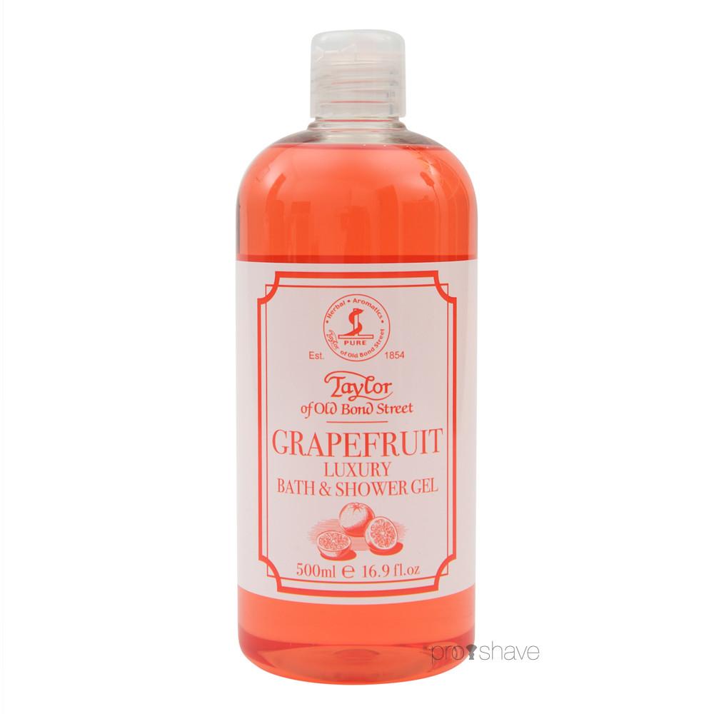 Taylor Of Old Bond Street Bath & Shower Gel, Grapefrugt, 500 ml.