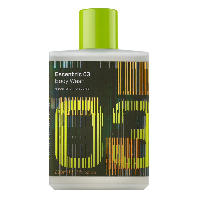 Escentric 03 Body Wash, 200 ml.