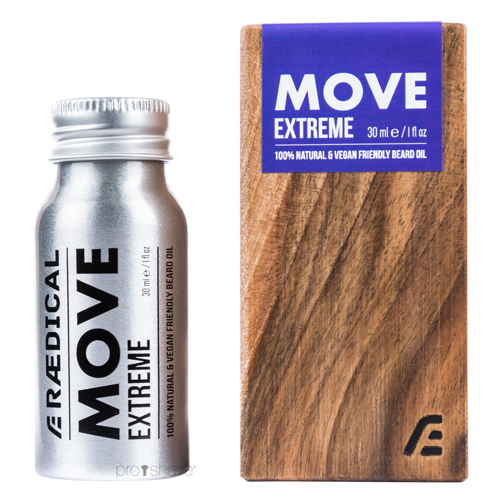 Rædical Move Extreme Skægolie, 30 ml.
