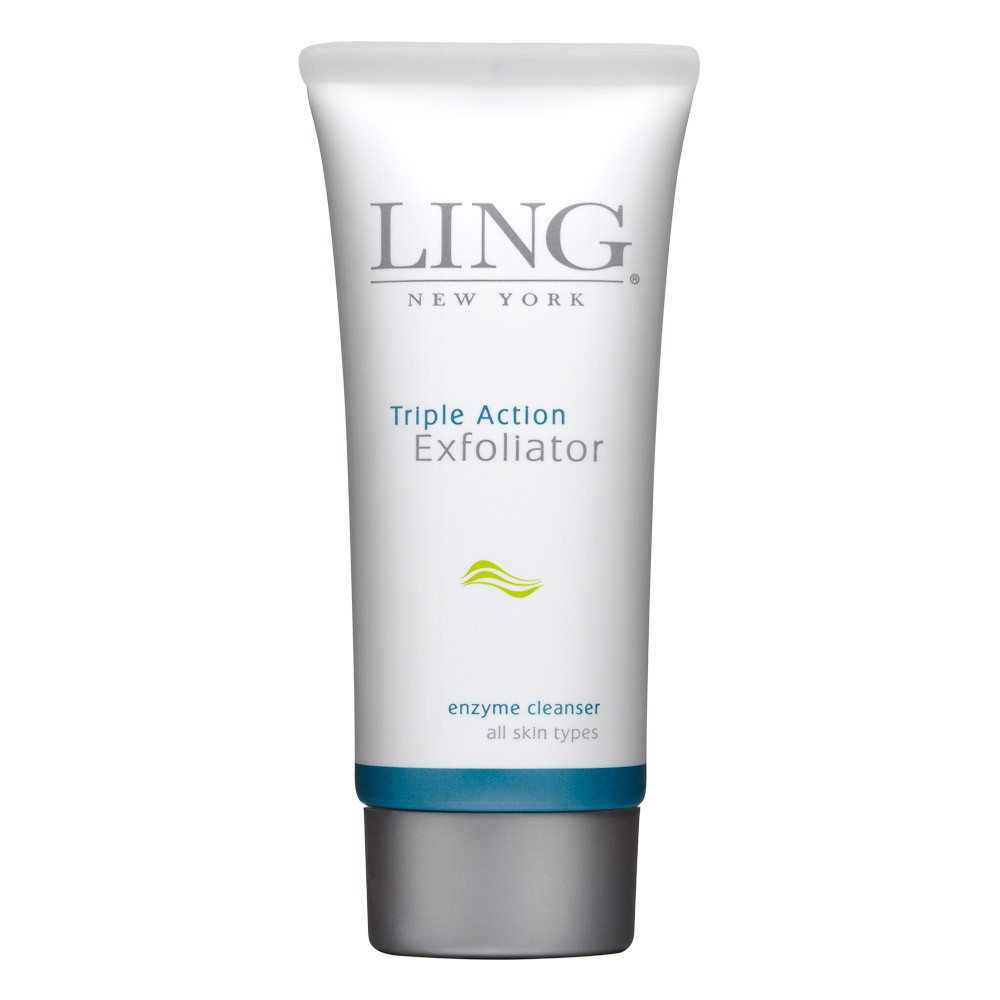 Ling New York Triple Action Exfoliator Enzyme Cleanser, 90 ml.