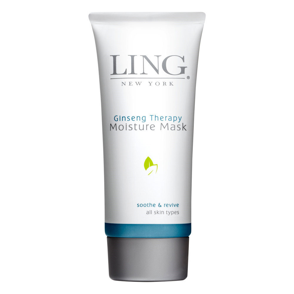 Ling New York Ginseng Therapy Moisture Mask, Soothe & revive, 90 ml.