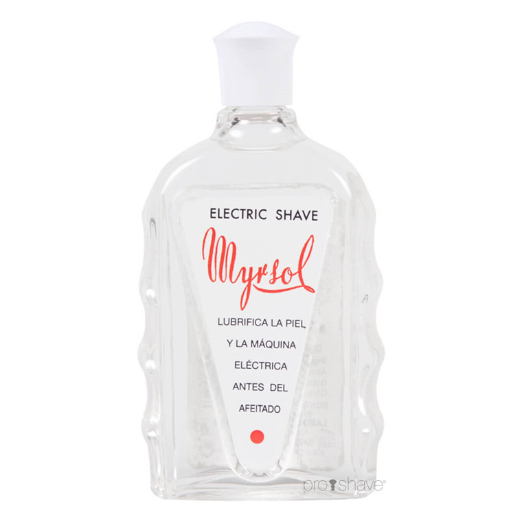 Myrsol Preshave Lotion, Masaje Electric, 180 ml.