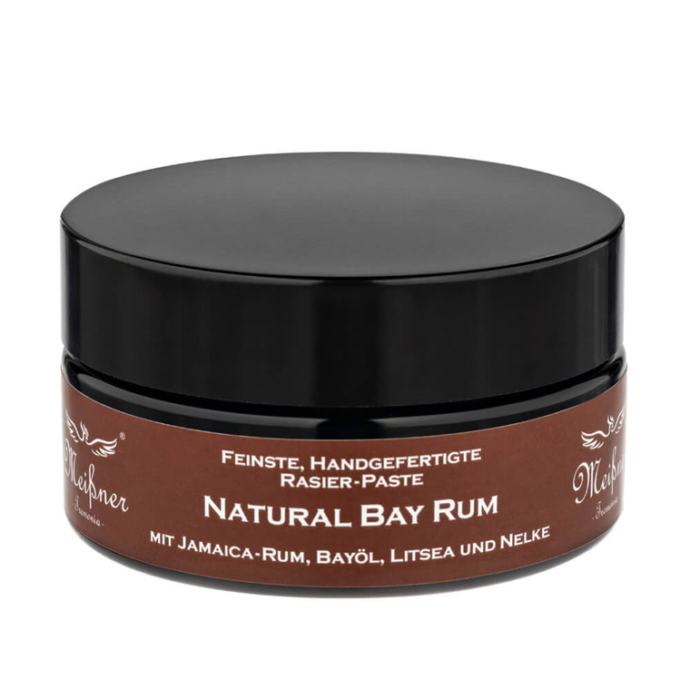 Meißner Tremonia Natural Bay Rum Barbercreme, 200 ml.