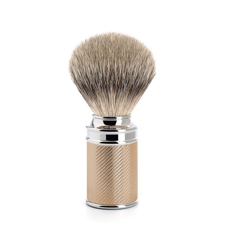 Mühle Silvertip Barberkost, 21 mm, Traditional, Rosenguld