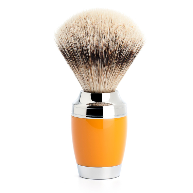 Mühle Silvertip Barberkost, 21 mm, Stylo, Butterscotch