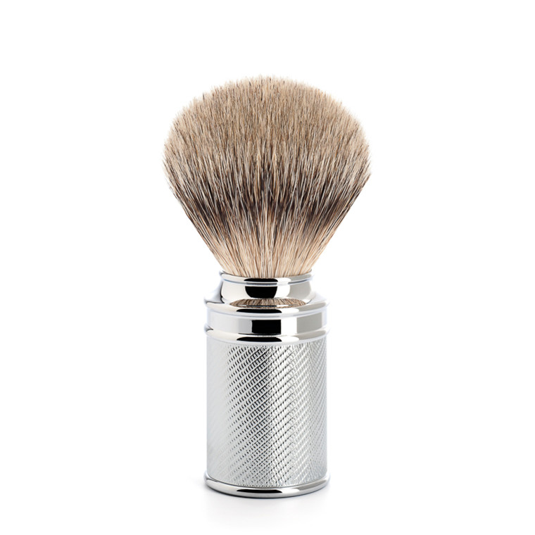 Mühle Silvertip Barberkost, 21 mm, Traditional, Krom