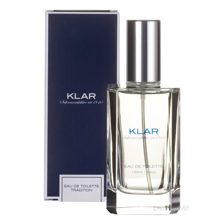 Klar Seifen Tradition Eau de Toilette, 100 ml.