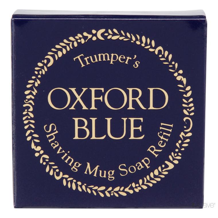 Geo F Trumper Barbersæbe, Refill, Oxford Blue, 50 gr.