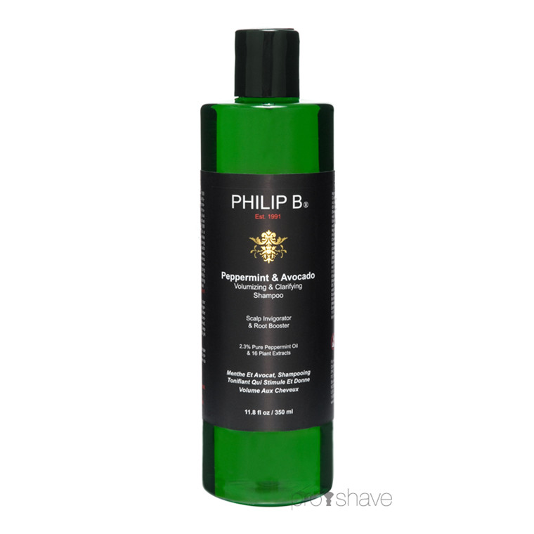 Philip B Peppermint & Avocado Volumizing & Clarifying