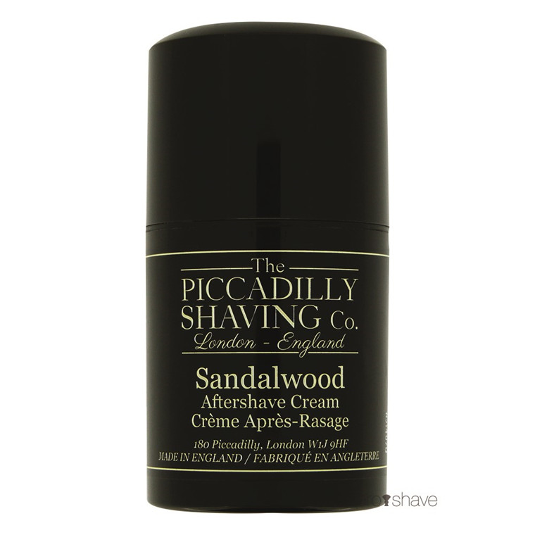 Piccadilly Shaving Sandeltræ Aftershave Cream, 50 ml.