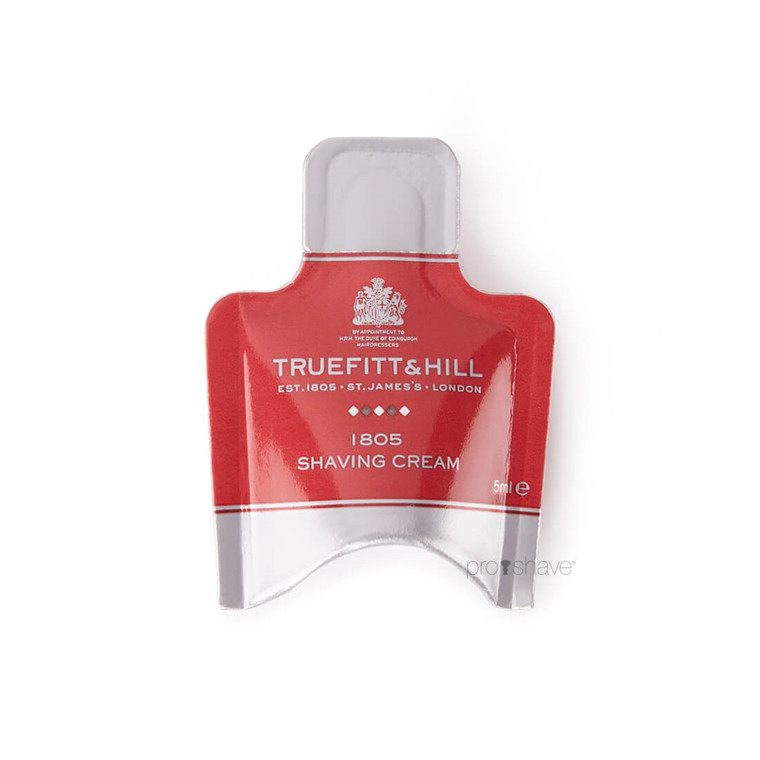 Truefitt & Hill 1805 Shaving Cream Sample Pack, 5 ml.