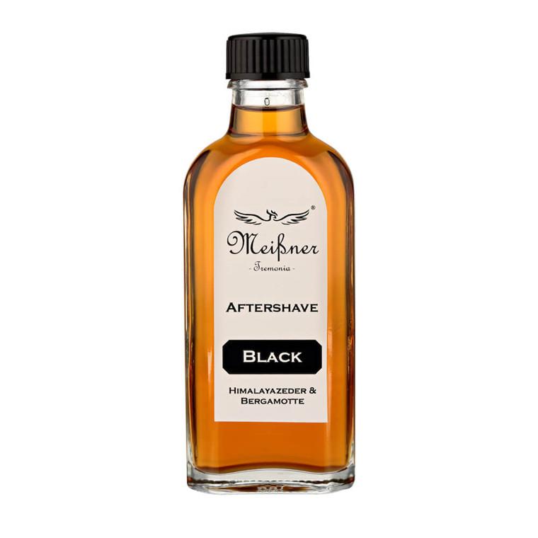 Meißner Tremonia Himalayan Cedar & Bergamotte Black Aftershave, 100 ml.