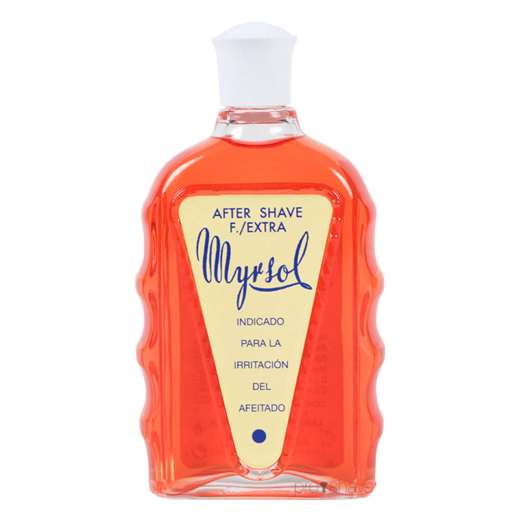 Myrsol Aftershave Lotion, F Extra, 180 ml.
